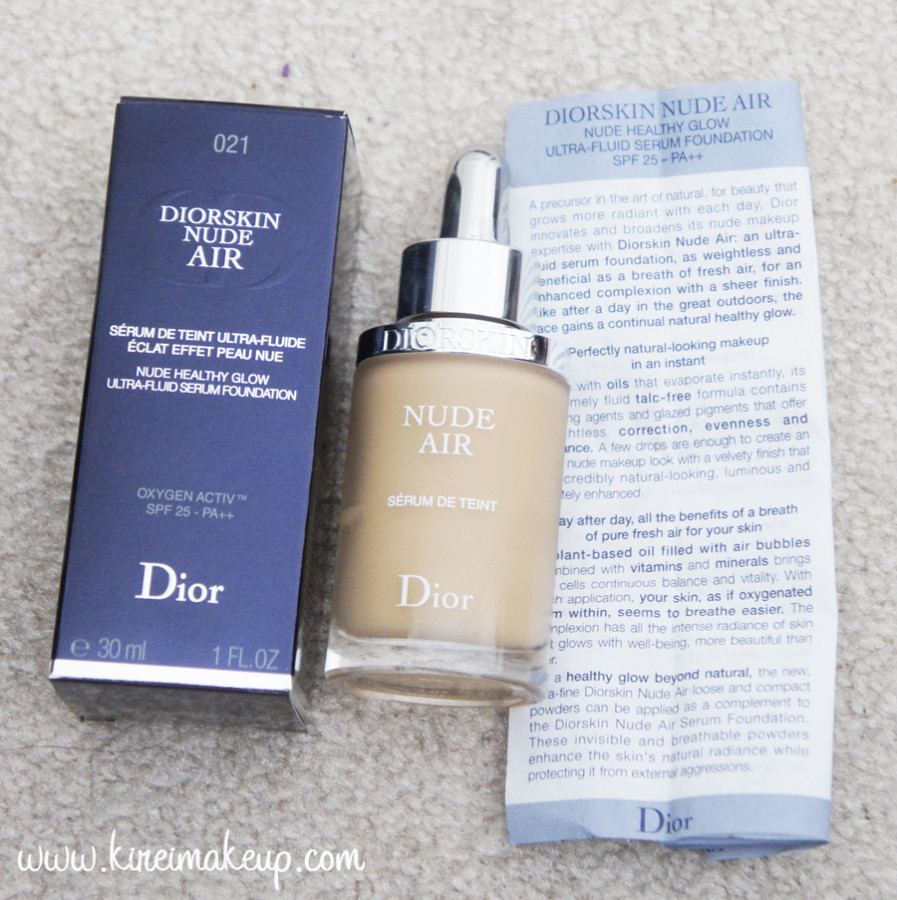 dior nude air review