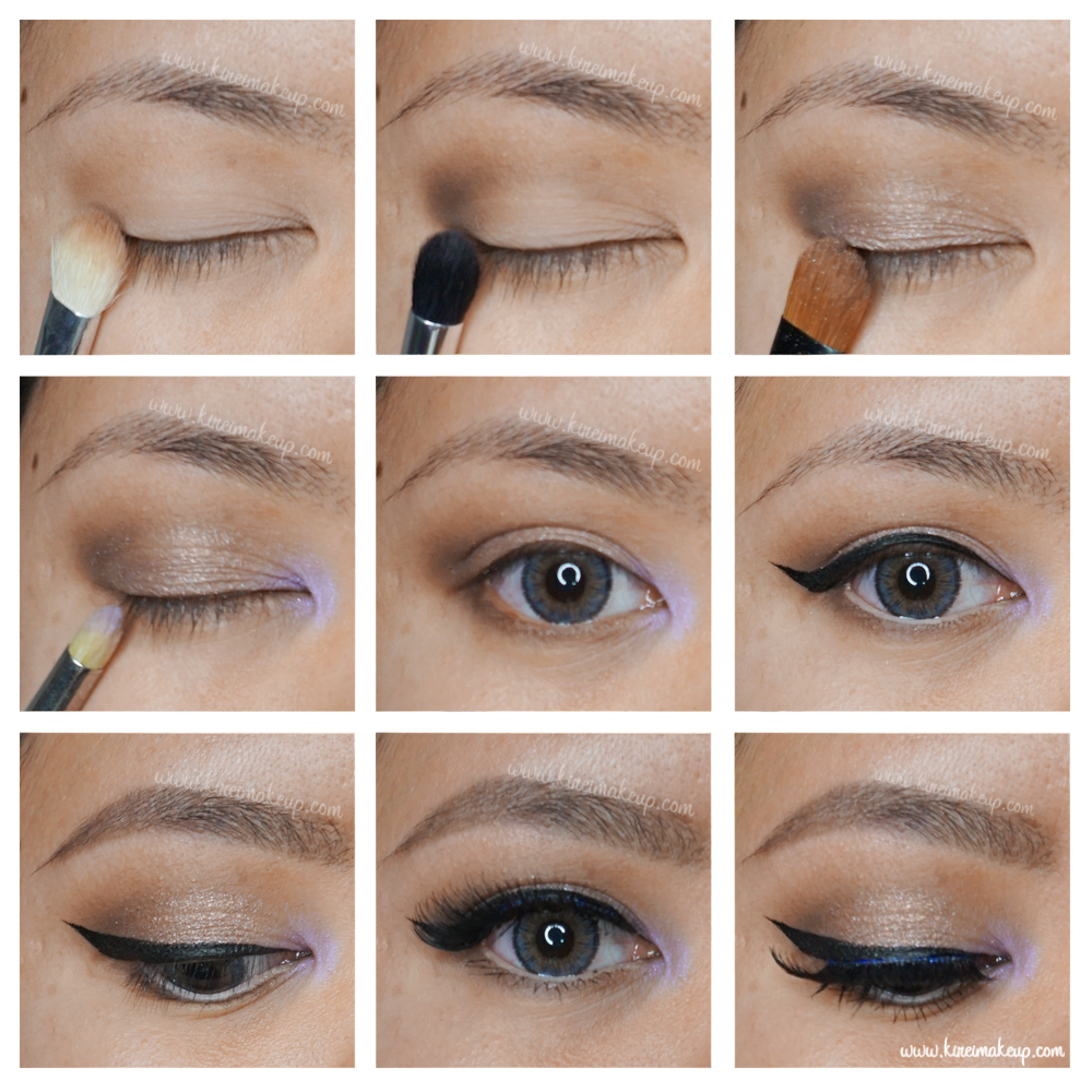 Neutral eye with pop of color kirei makeup spring makeup tutorial baditri Images