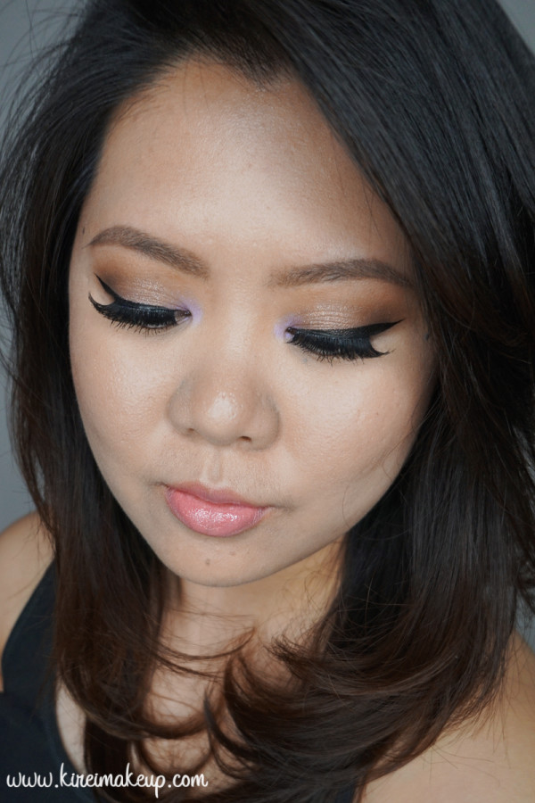 summer bronze smoky eyes