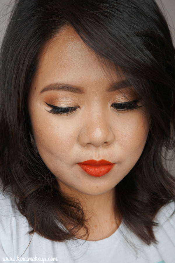 50s inspired makeup tutorial