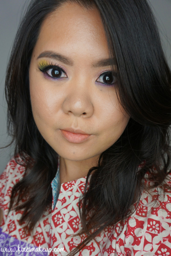 sleek makeup candy palette look