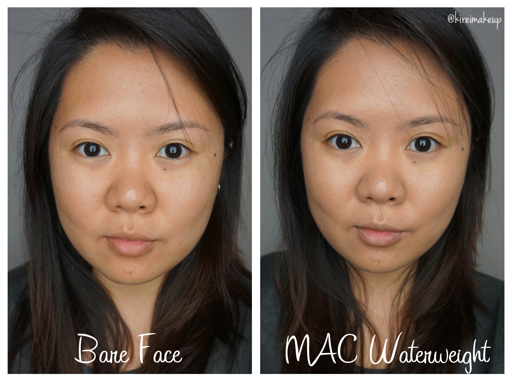 Mac Waterweight Foundation Review Kirei Makeup