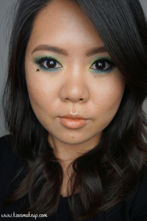kat von d mi vida loca remix palette makeup look