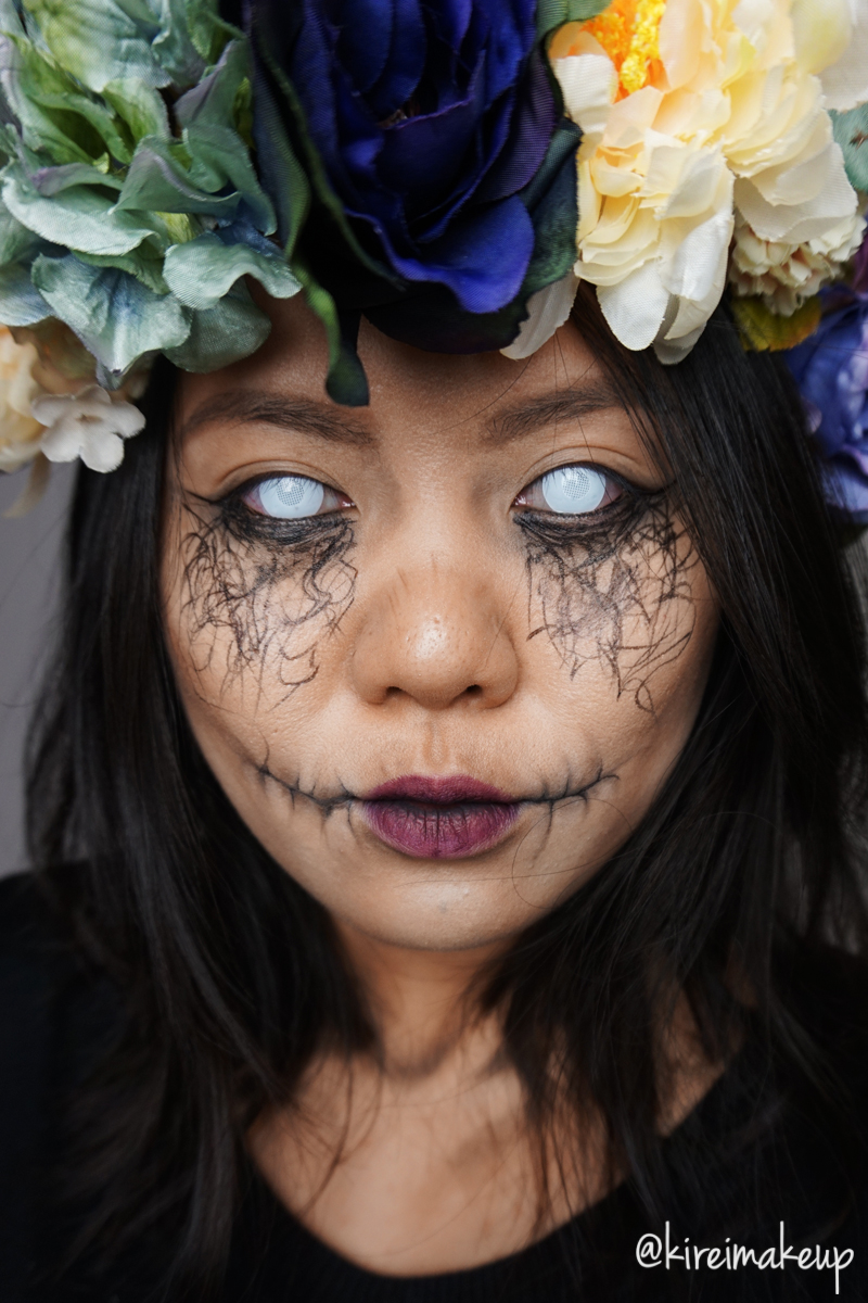 Dark Forest Nymph (Halloween Makeup)