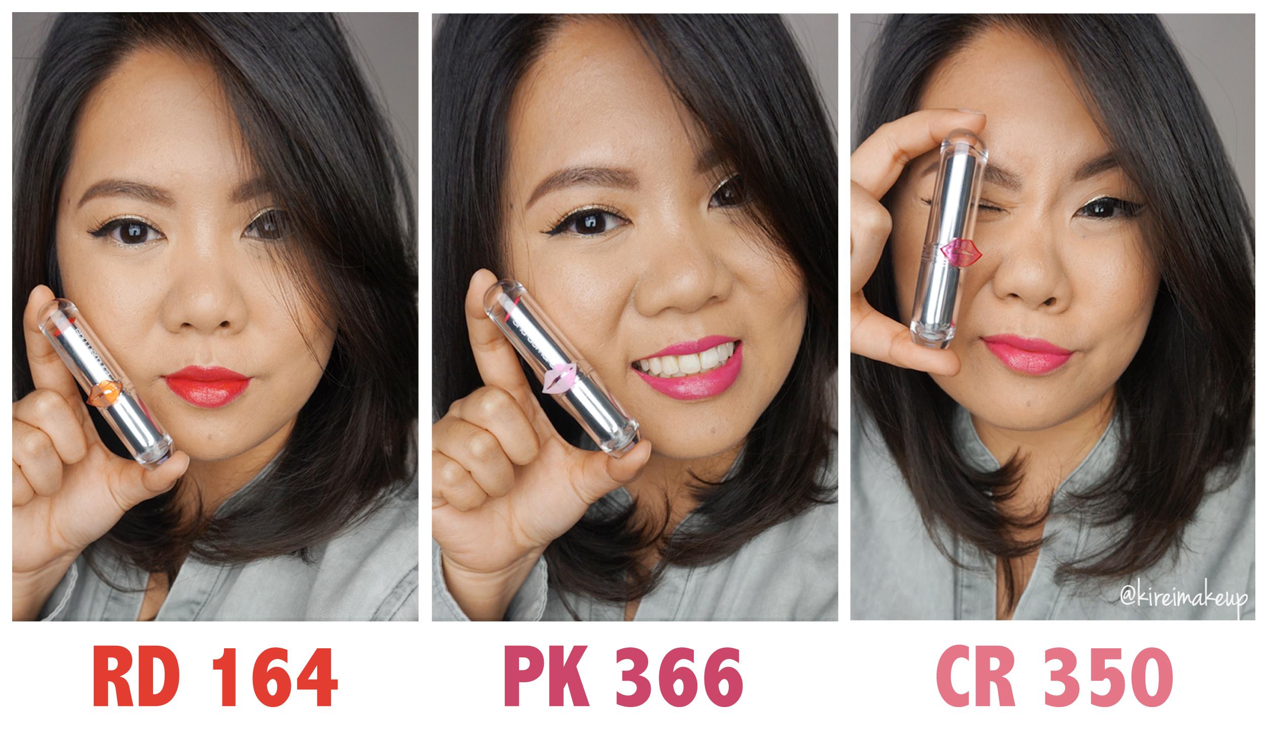 Shu Uemura Sheer Shine lipsticks