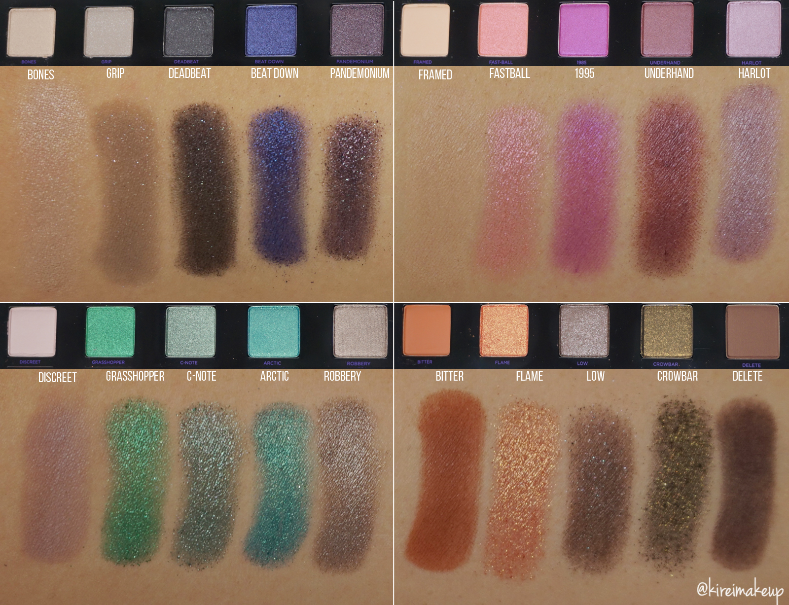 ud vice 4 swatches