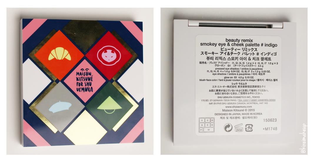 Maison Kitsune for Shu Uemura
