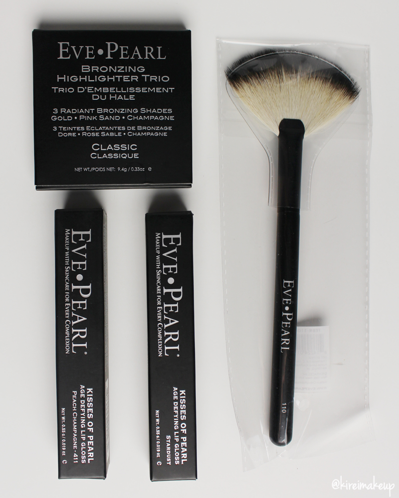 Eve Pearl blush trio