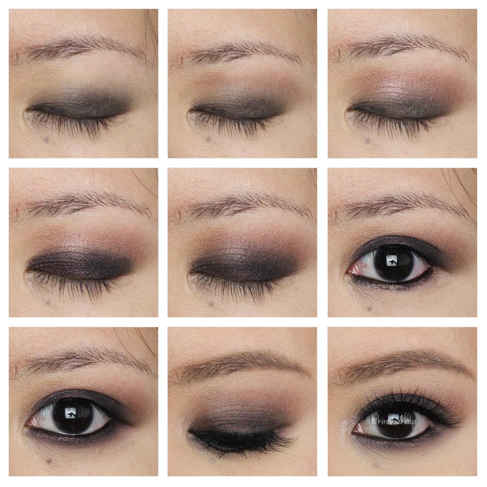 UD Naked 3 smoky eyes