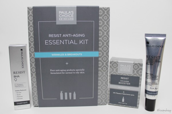 paula's choice essential kit review