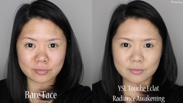 YSL Radiance awakening foundation for nc25