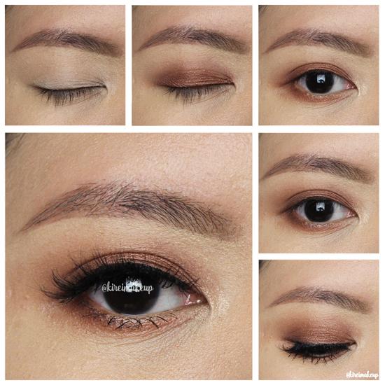 tarte rainforest of the sea eyeshadow palette makeup look