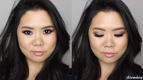 warm smoky eyes