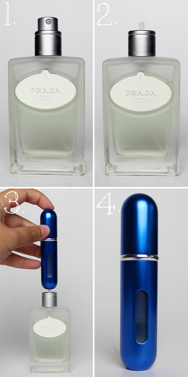 Travalo Travel Size Refillable Perfume Spray