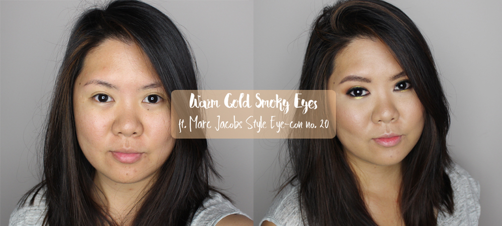 Marc Jacobs Style Eye Con no. 20 Swatches & Tutorial
