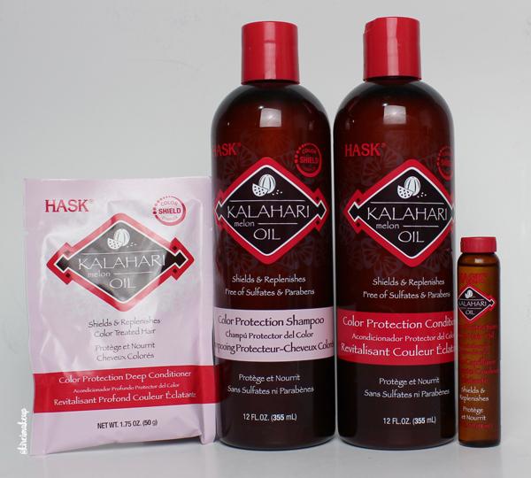 HASK Calahari Melon Oil Collection review