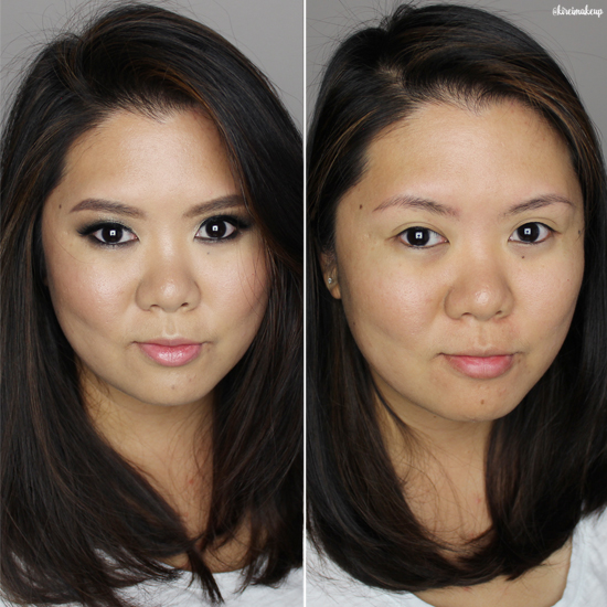 face off makeup remover before after
