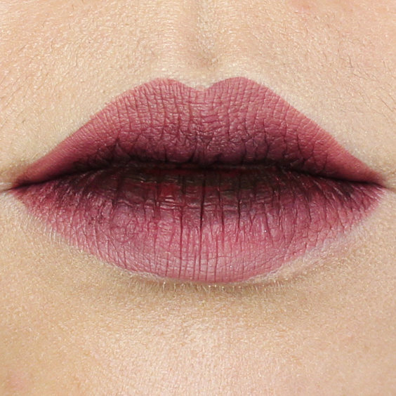 stained lips