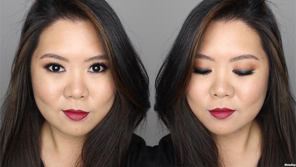 oxblood makeup