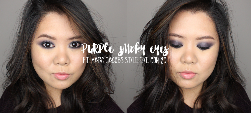 Holiday Makeup 2016 – Purple Smoky Eyes