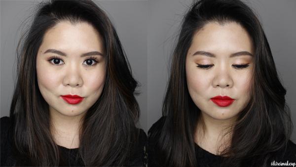 easy xmas makeup